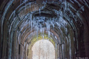 Greer Tunnel in Winter